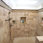 Bathroom remodel free standing tub traditional - Bathroom renovation order of trades ...