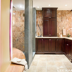 traditional bathroom by Lee Kimball