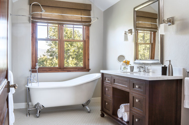 Craftsman Bathroom by Shannon Scott Design
