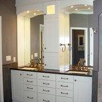 Bathroom With Glass Floor Contemporary Bathroom