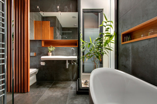 Contemporary Bathroom by LSA Architects