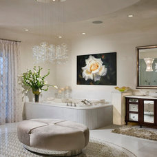Contemporary Bathroom by W.A. Bentz Construction, Inc.