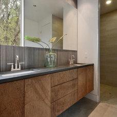 Contemporary Bathroom by PGM Design + Build
