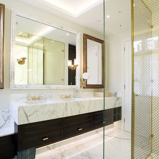 Inspiration for a contemporary bathroom remodel in London