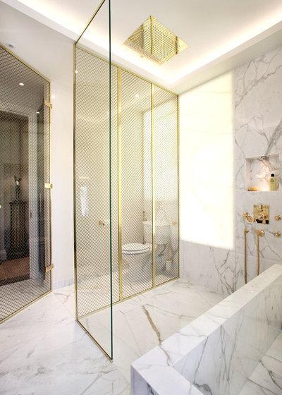 Современный Ванная комната by Alex Maguire Photography