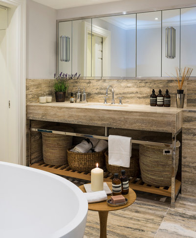 Contemporary Bathroom by London Land Management