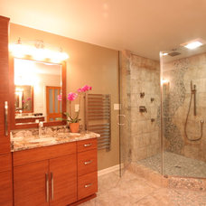 Eclectic Bathroom by Leo Lantz Construction, Inc.
