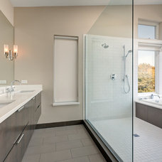 Contemporary Bathroom by Whitney Architecture