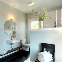 contemporary bathroom by Zinc Interior Concepts