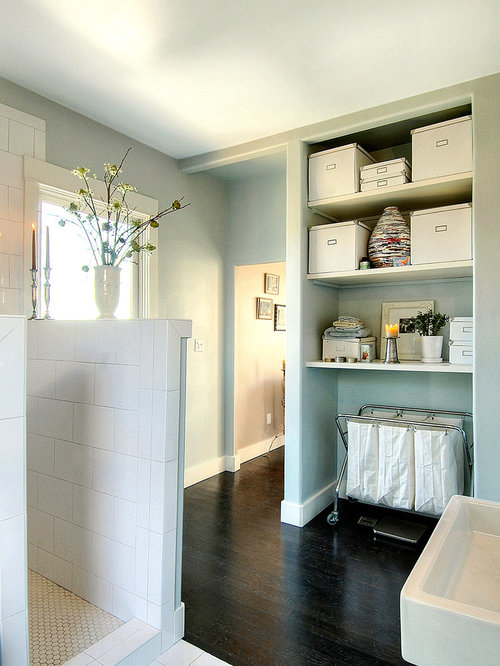 Second floor laundry room home design ideas pictures for Second bathroom ideas