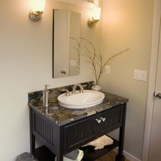Eclectic Bathroom by L.EvansDesignGroup,inc