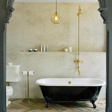 Eclectic Bathroom by Ken Levenson Architect P.C.
