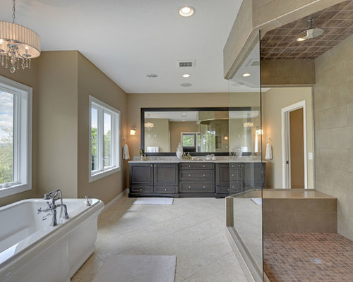 High Quality Inspiration For A Transitional Freestanding Bathtub Remodel In Minneapolis