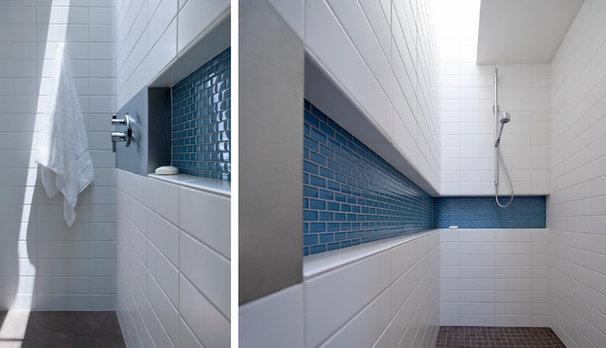 Modern Bathroom by Ibarra Rosano Design Architects