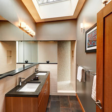 Contemporary Bathroom by dustin.peck.photography.inc
