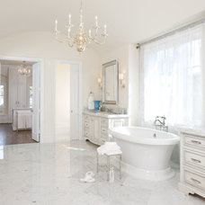 Traditional Bathroom by Symmetry Architects