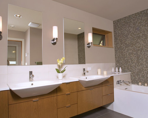 Bathroom Sink 500 X 400 overhanging sink | houzz