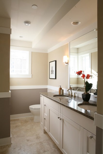 traditional bathroom by Sarah Susanka, FAIA