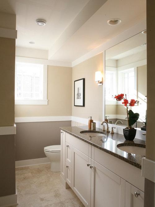 bathroom chair rail 3
