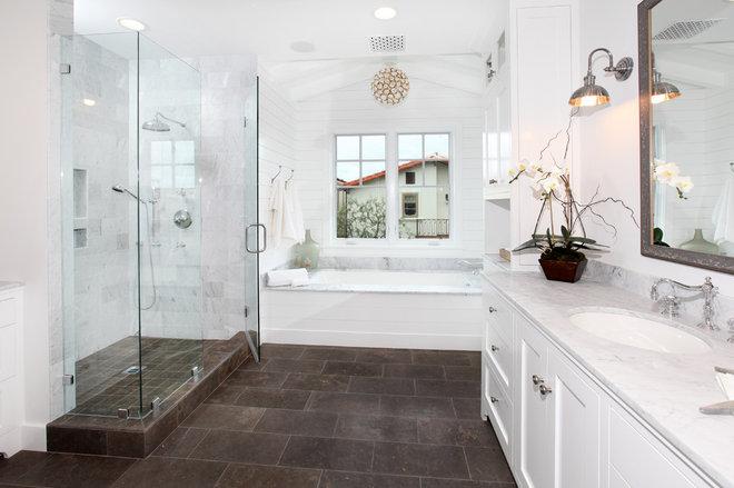 Traditional Bathroom by Graystone Custom Builders, Inc.