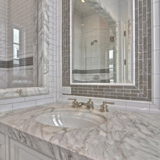 Traditional Bathroom by Venetian Stone Gallery