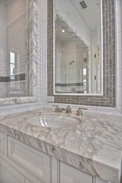 Traditional Bathroom by Venetian Stone Gallery
