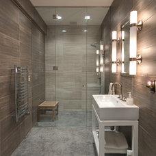Contemporary Bathroom by AVB Inc.
