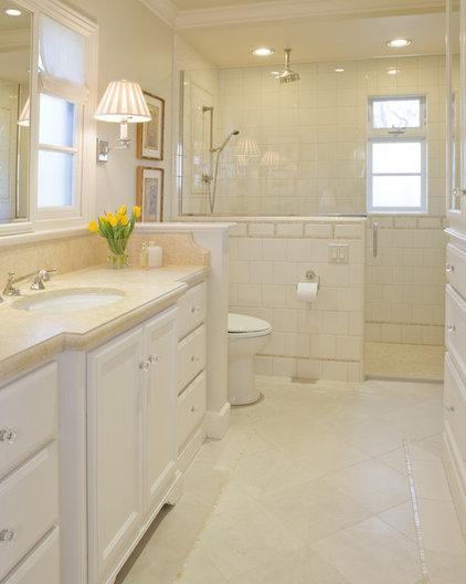 Traditional Bathroom by Alexandra Luhrs Interior Design