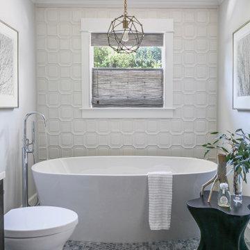 Light and Bright Master Bathroom