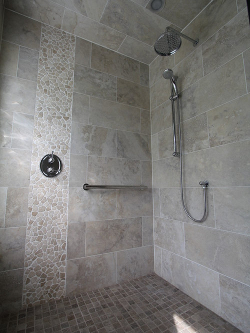 Best Vertical Tile Shower Design Ideas Amp Remodel Pictures