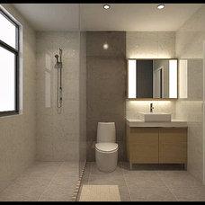 Modern Bathroom light box