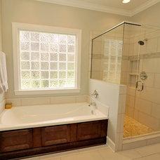 Traditional Bathroom by CASE Design/Remodeling Birmingham