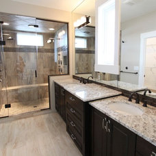 Traditional Bathroom by Vance Vetter Homes