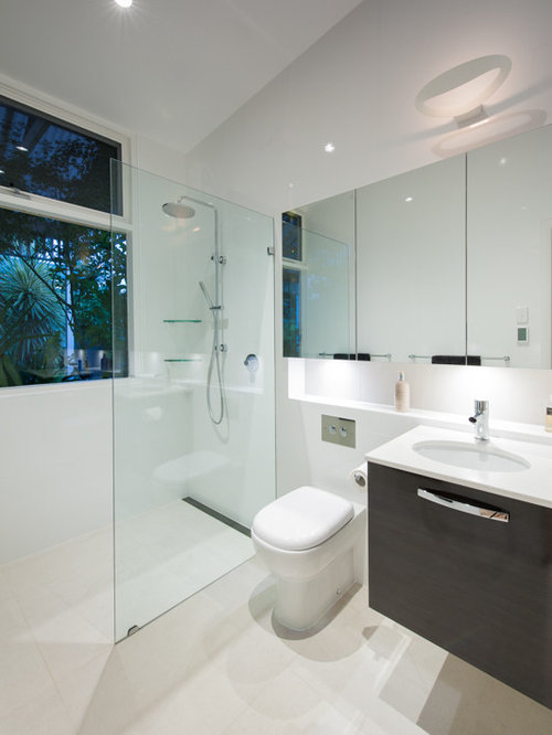 Minimalist Small Bathroom Designs : Minimalist bathroom design houzz