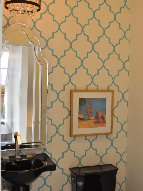 mediterrane badezimmer mit porzellan bodenfliesen design. Black Bedroom Furniture Sets. Home Design Ideas