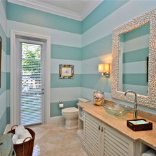 Tropical Bathroom by Lighthouse Interiors