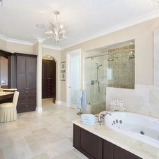 Traditional Bathroom by ibi designs