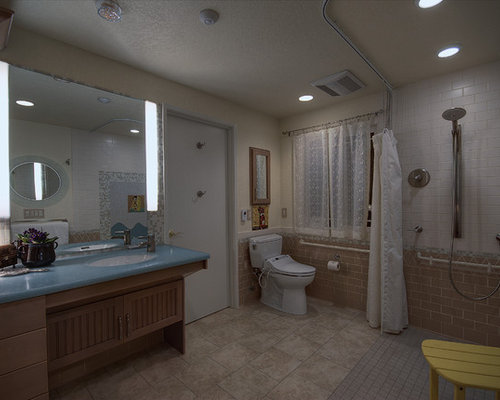 Assisted living bathroom design ideas remodels photos for 8x4 bathroom design