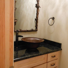 Traditional Bathroom by Marty Daniels Construction