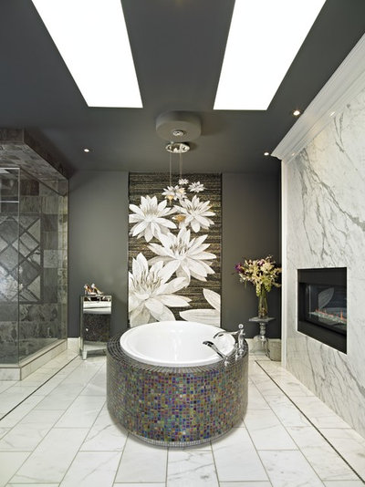 Contemporary Bathroom by Red Deer Carpet One