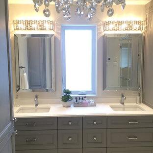 75 Gray Bathroom Design Ideas - Stylish Gray Bathroom Remodeling ...