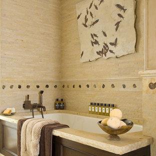 Inspiration for a contemporary bathroom remodel in Dallas