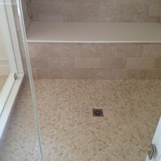 Traditional Bathroom by Fowler Tile Design