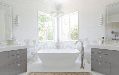 Bathroom of the Week: Light, Airy and Elegant Master Bath Update