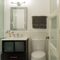 contemporary bathroom by Claudia Martin, ASID