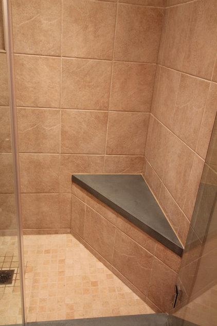 Tropical Bathroom by Design Build 4U Chicago