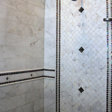 Traditional Bathroom by EuroTile & ReModeling, Inc