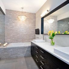 Modern Bathroom by J Designs, Inc