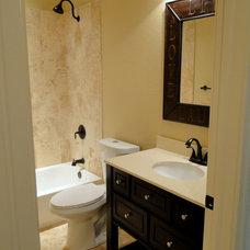 Craftsman Bathroom by Firefly Properties, LLC