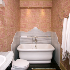 traditional bathroom by Ossolinski Architects, PLLC